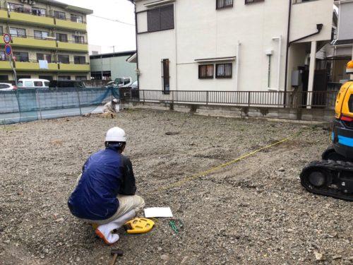 【施工中レポート】地盤改良工事が無事終了。K社様新社屋の基礎工事が着々と進行中です!